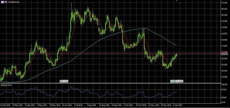 Quotazione Argento Euro